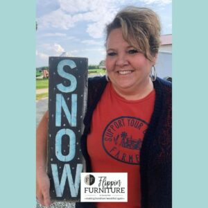 DIY Snow Sign tutorial