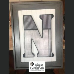 Personalized Initial Wall Decor
