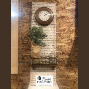 Farmhouse Clock Wall Decor